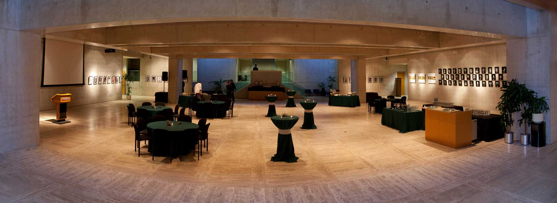Salk Institute Foyer