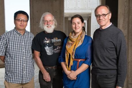 Xinde Zheng, Tony Hunter, Leah Boyer and Rusty Gage