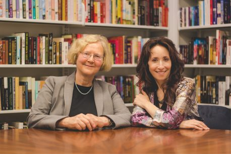 From left: Elizabeth Blackburn and Elissa Epel