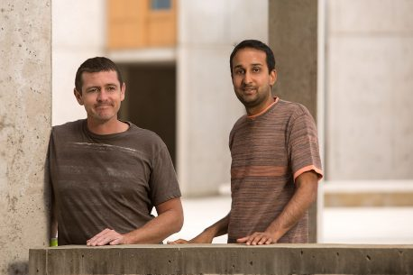 From left: Adam Conn and Saket Navlakha