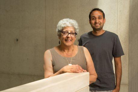 From left: Joanne Chory and Saket Navlakha