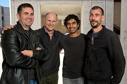 Emmanuel Nivet, Juan Carlos Izpisua Belmonte,  Leo Kurian, Ignacio Sancho-Martinez