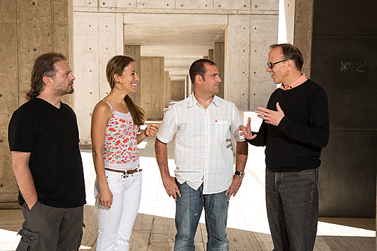 Ahmet Denli, Carol Marchetto, Iñigo Narvaiza and Fred Gage