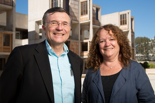 Terry Sejnowsky and Maria Margariat Behrens