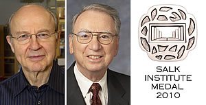 Irwin Jacobs and Robert Roeder