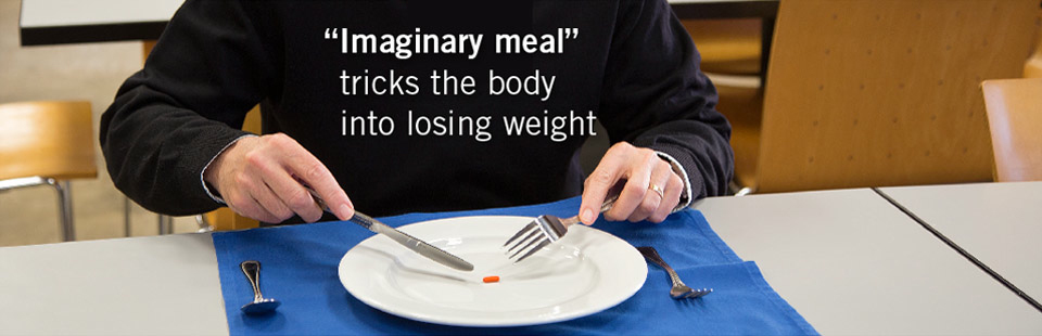 'Imaginary meal' tricks the body into losing weight