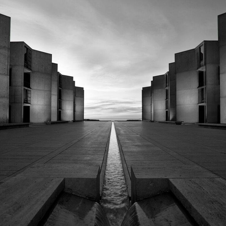 Salk Courtyard