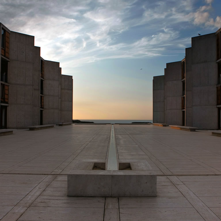 Salk Institute Courtyard