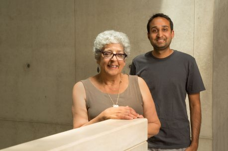 From left: Joanne Chory and Saket Navlakha