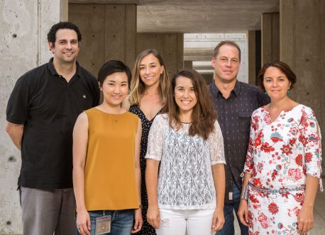 From left: Alan Saghatelian, Jiao Ma, Anna Merlo, Adriana Correia, Jan Karlseder, Nausica Arnoult