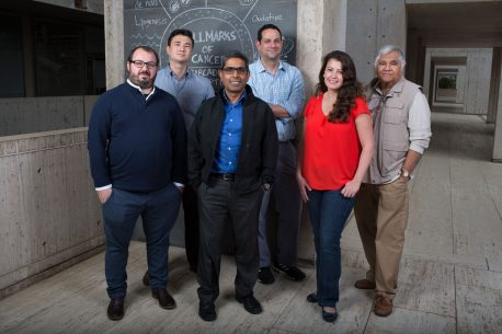From left: Gabriele Sulli, Matthew Kolar, Satchidananda Panda, Alan Saghatelian, Amy Rommel and Inder Verma