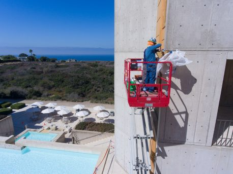 salk institute concrete conservation