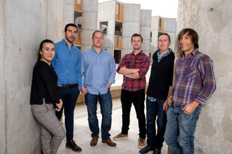 From left: Adriana Correia, Joe Nassour, Jan Karlseder, Robert Radford, Reuben Shaw and Javier Miralles Fusté