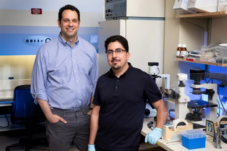 From left: Alan Saghatelian and Thomas Martinez
