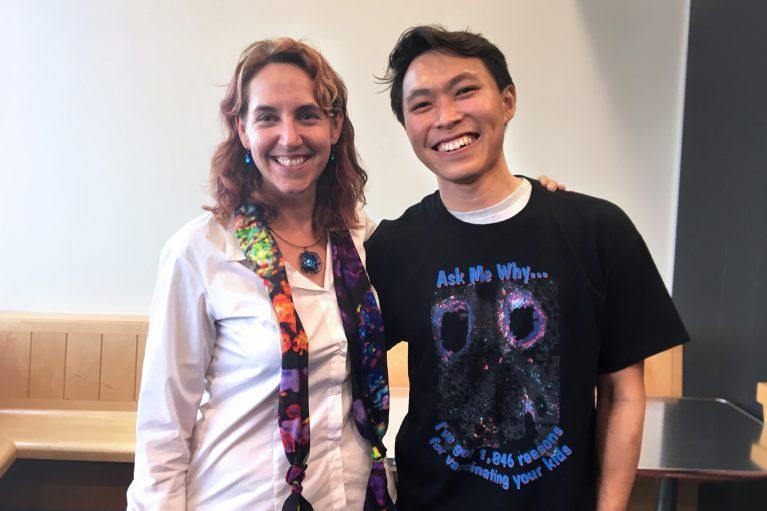 Susan Kaech and Jun Siong Low